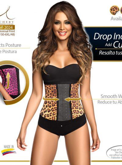 Ann Chery leopard waist trainer