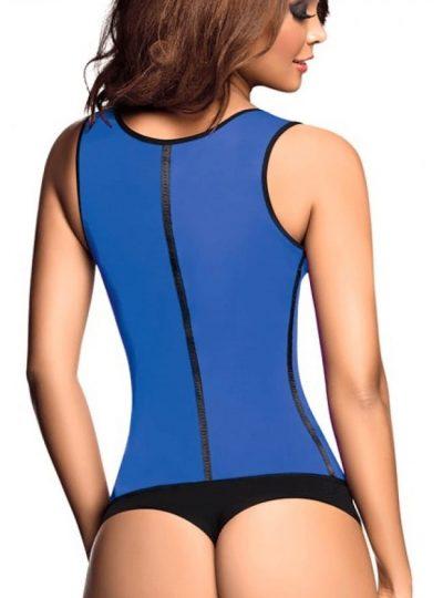 Ann Chery blå latexväst bild bak