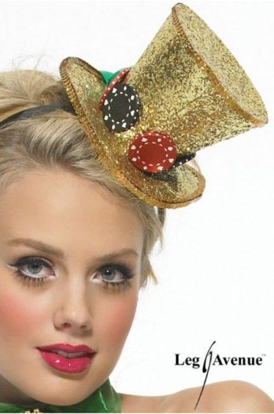 casino hatt på modell
