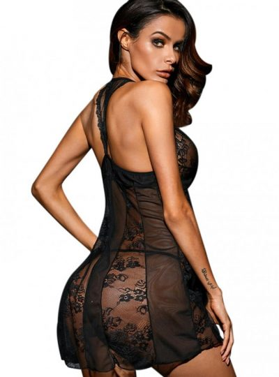 Babydoll - Pretty in lace bak på modell
