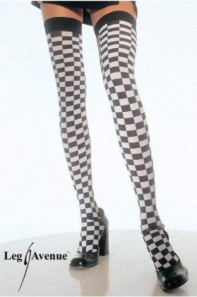 Strumpor - Checkerboard på modell