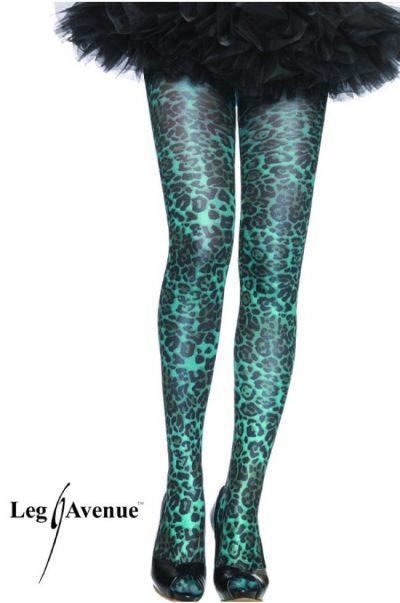Strumpbyxa - Leopard på modell