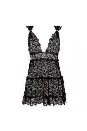 Lolita svart babydoll fram