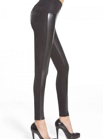 Svarta snygga leggings sida