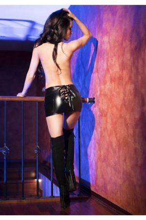 Sexig kjol med snörning bak