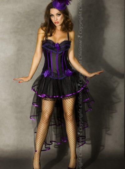 Kjol i burlesk stil