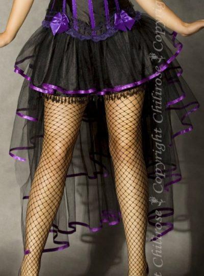 Kjol i burlesk stil närbild