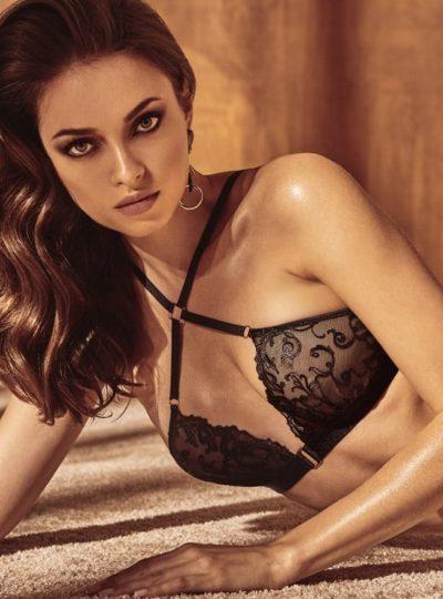 Bracli Vienna crossed bra på modell