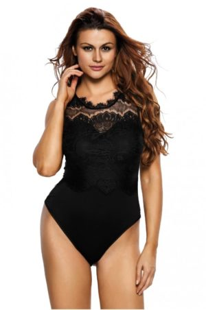 Svart teddy - Black Glamour
