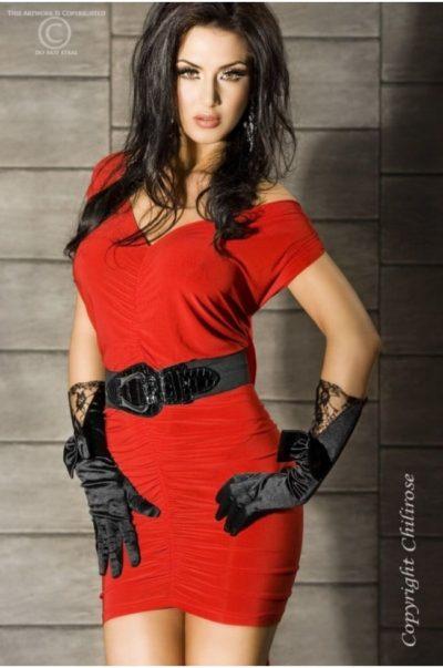 Panthera - Röd kort klänning
