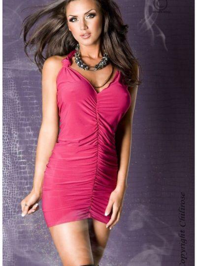 Panthera - Rosa kort klännig