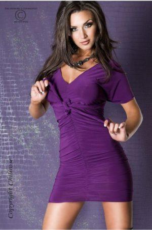Panthera - Lila kort klänning