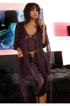 Jasmine fin pyjamas med morgonrock