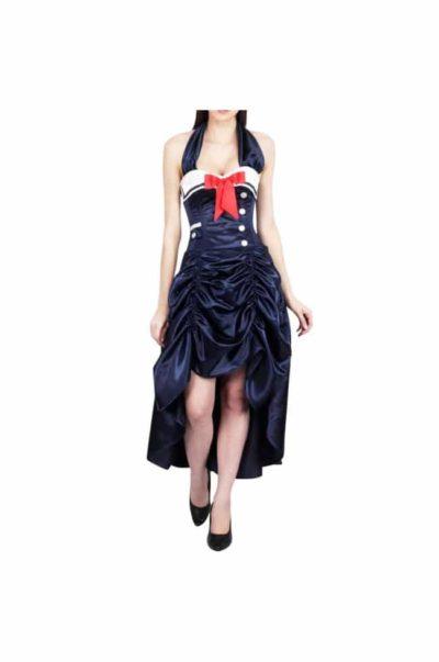 Korsett klänning