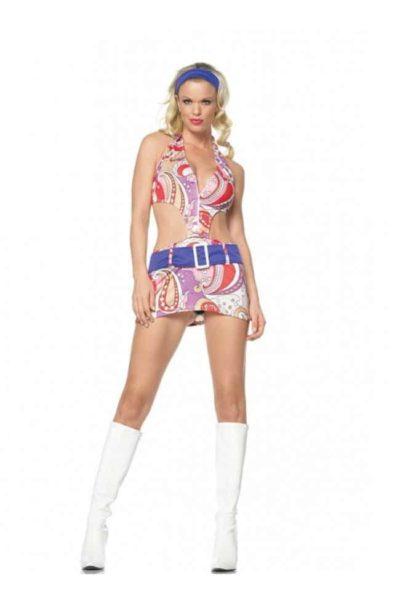 Snygg klänning i retrostil