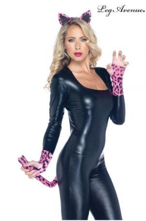 Leopard set för maskerad