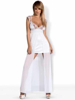 Vit vacker gown