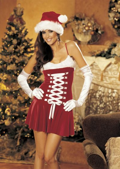 Sexig julklänning
