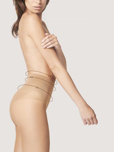 Strumpbyxa som ger stöd för magen