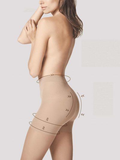 Strumpbyxa med stöd för mage, höft, lår och rumpa